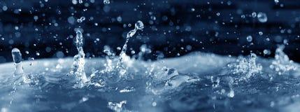 De plons van het water Royalty-vrije Stock Foto