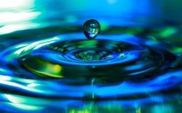 De plons van het water Stock Afbeelding