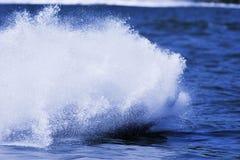 De plons van het water. Stock Fotografie