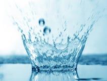 De plons van het water royalty-vrije stock afbeelding