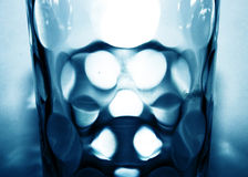 De plons van het water in glas Royalty-vrije Stock Fotografie