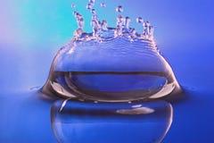 De plons van het water voor wellness, kuuroord Royalty-vrije Stock Foto's
