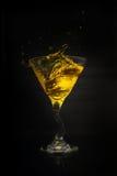 De plons van martini Stock Foto