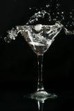 De plons van martini stock afbeeldingen