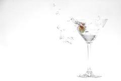 De plons van martini Royalty-vrije Stock Foto