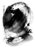 De plonsachtergrond van de inkt Stock Afbeeldingen