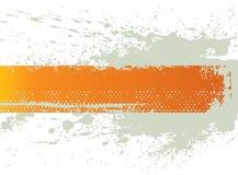 De plonsbanner van Grunge vector illustratie
