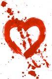 De plonsen van de liefde Stock Afbeelding