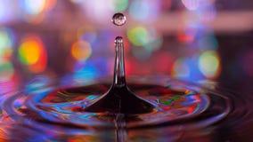 De plonsen van het water Royalty-vrije Stock Foto