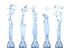 De plonsen van het water Stock Afbeelding