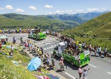 De PMU-Caravan - Ronde van Frankrijk 2014 stock foto's