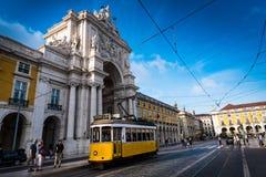 2 de points de repère de Lisbonne Images libres de droits