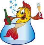 or de poissons illustration de vecteur
