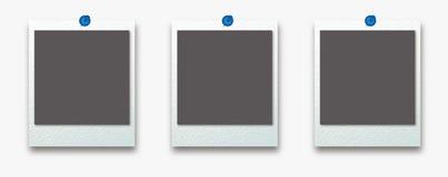 De polaroid- reeks van het fotokader vector illustratie