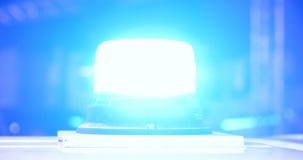 De politie controleert de signaallichten stock videobeelden