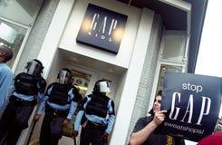 De Politie van de rel royalty-vrije stock afbeelding