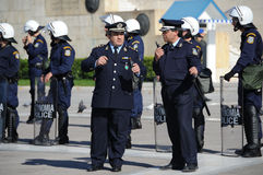 De politie van Griekenland royalty-vrije stock foto