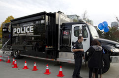 De politie van Vancouver Canada Royalty-vrije Stock Fotografie