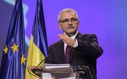 De politiek van Roemenië - Sociaal Democratisch partijcongres royalty-vrije stock afbeeldingen