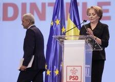 De politiek van Roemenië - Sociaal Democratisch partijcongres royalty-vrije stock afbeelding