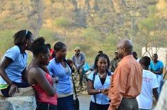 De Politieke Campagne van Kaapverdië Royalty-vrije Stock Foto