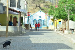 De Politieke Campagne van Kaapverdië Royalty-vrije Stock Foto's