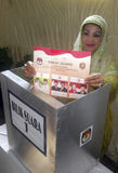 DE POLITIEKE DYNASTIEËN VAN INDONESIË royalty-vrije stock foto