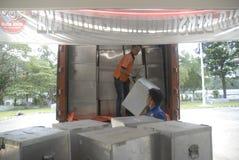DE POLITIEKE DYNASTIEËN VAN INDONESIË stock afbeelding