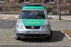 De politievoertuig van Duitsland royalty-vrije stock afbeelding