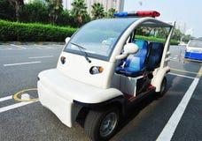 De politiewagen van Dynamoelectric Stock Afbeelding