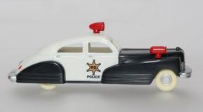 De Politiewagen van het stuk speelgoed royalty-vrije stock foto's