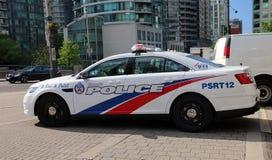 De Politiewagen van Toronto stock foto's