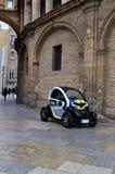 De politiewagen van Valencia Stock Afbeelding