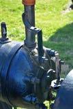 De pomp van de Atiqueoliebron stock afbeeldingen