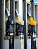 De Pomp van de benzine Royalty-vrije Stock Foto's