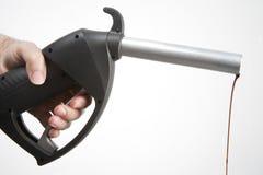 De pomp van de benzine royalty-vrije stock afbeelding