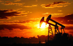 De pomp van de olie