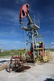 De pomp van de olie Stock Afbeeldingen