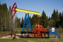 De pomp van de olie Royalty-vrije Stock Afbeeldingen