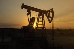De pomp van de olie Royalty-vrije Stock Foto