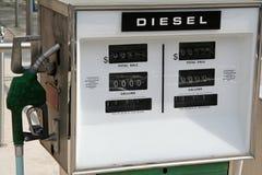 De Pomp van het benzinestation Royalty-vrije Stock Foto
