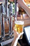De pomp van het bier Stock Foto
