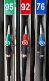 De Pompen van de benzine Royalty-vrije Stock Afbeeldingen