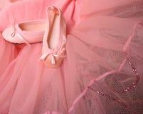 De Pompen van het ballet Stock Foto's