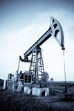 De pomphefboom van de olie Stock Afbeeldingen