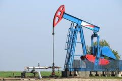 De pomphefboom van de olie Stock Foto
