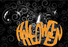 De pompoen van Halloween Royalty-vrije Stock Foto