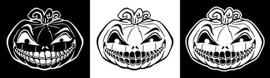 De pompoen van Halloween, hefboom-o-lantaarn stock illustratie