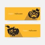 De pompoen van Halloween hipster Royalty-vrije Stock Fotografie