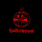 De pompoenachtergrond van Halloween Stock Foto's